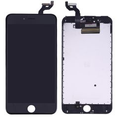 [$76.30] iPartsBuy 3 in 1 for iPhone 6s Plus (LCD + Frame + Touch Pad) Digitizer Assembly (Black)