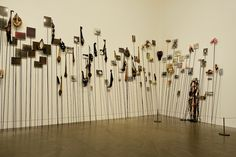 «The Pikes», 1992 – 1993 (Annette Messager) in the Tate Modern