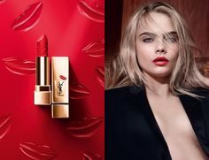 YSL Rouge Pur Couture Kiss and Love Collection Fall 2015