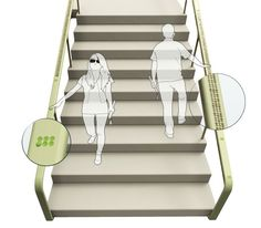 Staircase handrails usually are not considered to be a great navigation, however, if we use Braille Staircase Handrail, it would be really handy for visually impaired and blind people.