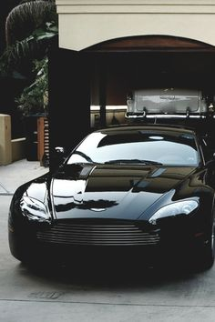 Aston Martin DB9  Don't you just hate having to nip out for a pint of milk!!
