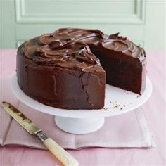 Chocolate mud cake recipe. This is the ultimate chocolate cake. Enjoy it best as a dessert or have a sliver with a cup of tea.
