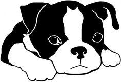 boston terrier vector - Buscar con Google