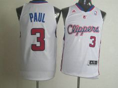 Los Angeles Clippers Chris Paul  3 Swingman Jersey White 02-Ortbel.com 1ae88eae0