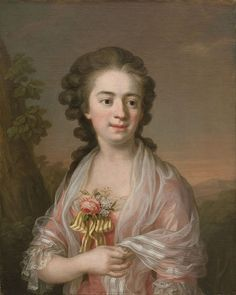 """""""Self-portrait"""", c. 1770, by Ulrika Pasch (also known as Ulla Pasch, Swedish, 1735-1769). She was one of few female artists known in Scandinavia before the 19th century. She was a member of the Royal Swedish Academy of Arts (1773)."""