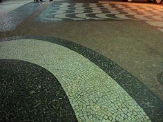 calçada in Brazil