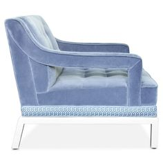 Jonathan Adler Doris Chair | Jonathan Adler  chairs | seating | velvet chair