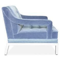Jonathan Adler Doris Chair | Jonathan Adler  chairs | seating | velvet chair