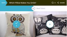 Pillows Add A Lot To Your Decor Design - Let Us Know What Makes You Smile!
