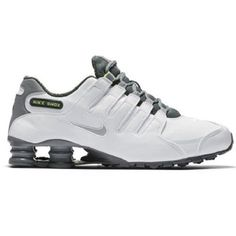 san francisco 8f4ae faa55 Nike Shox NZ SE Size 10 US White Grey Men s Shoes  Nike Nike Shox Nz