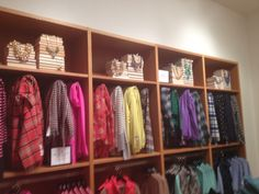 Jcrew scarf display