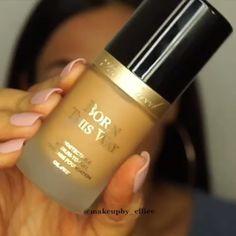 How To Apply Liquid Foundation - makeup looks - Hochsteckfrisur Contour Makeup, Skin Makeup, Liquid Makeup, Contouring, Glamorous Makeup, Gorgeous Makeup, No Foundation Makeup, Liquid Foundation, Beauty Make-up