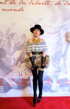 The wardrobe of Ms. B: Bang Bang