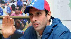 """Capriles restó importancia a la lista publicada por ministra de Información, Delcy Rodríguez, con los destinos vacacionales de algunos dirigentes de oposición y empresarios, y acusó al Gobierno de padecer de """"locuras persecutorias"""""""