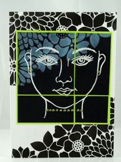 The Pampered Stamper: FACE It...Stampendous and Dreamweaver POP!