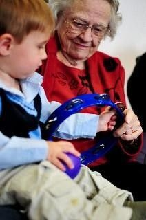 Intergenerational Music Together Sample Class Austin, TX #Kids #Events