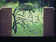 hand forged gate - Google Search