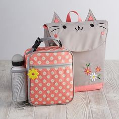 SO cute (unicorn & panda too) but her lunch box would probably still take up as much room as in the skip hop