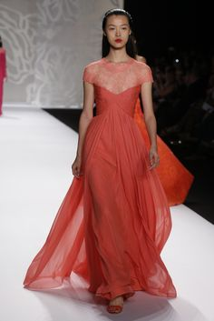 Monique Lhuillier RTW Spring 2014 - Slideshow - Runway, Fashion Week, Reviews and Slideshows - WWD.com