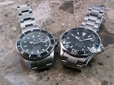 Comparative Review of the Omega Seamaster Professional Model2254.50.00  VS. The Rolex Submariner 16610   Luxury Tyme:  The Rolex Reference Page