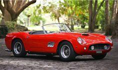 Rara Ferrari 250 California 1961 irá a leilão - Carros - Jornal do Carro…