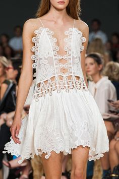 STILL DREAMING ABOUT THIS chloe s/s 2015 dress | @andwhatelse