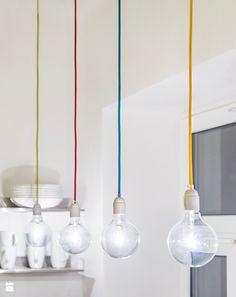 #decorative #lightbulbs in the kitchen - EG projekt foto: 17pixeli.com