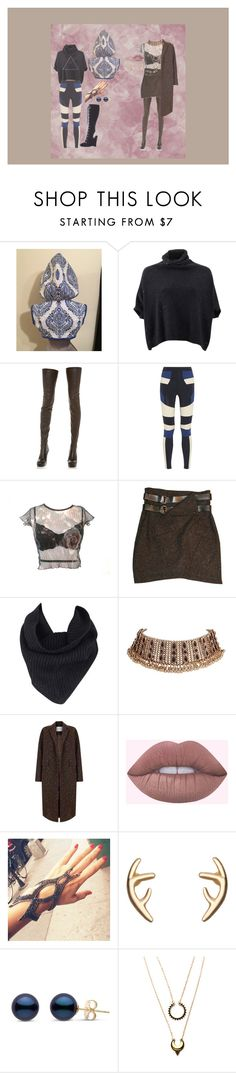 """""""Untitled #161"""" by jack-rabbit on Polyvore featuring Brunello Cucinelli, Maison Margiela, No Ka'Oi, Burfitt, A.L.C., The 2nd Skin Co., WithChic and Menu"""