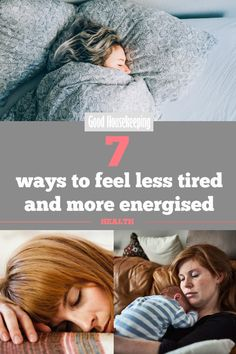 7 ways to feel less tired and more energised. Tired of feeling tired? Try these clever ways to start making more deposits into your energy bank account… #sleep #tired #sleeptips #sleepadvice