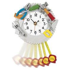 Workshop Clock from Lillian Vernon