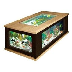 aquarium coffee table | coffee table plans, table plans and aquariums