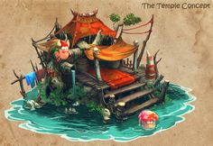 ArtStation - The Temple, Nghĩa Nguyễn