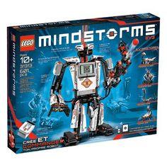 Bouw fantastische robots met deze coole LEGO set! Met LEGO MINDSTORMS kunnen kinderen kennismaken met de fascinerende werelden van LEGO en robottechnologie. LEGO-nr. 31313.  #speelgoed #toys
