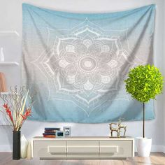 Us 1199 8 Off Home Decor Polyester Fabric Mandala Tapestry Wall Hanging Throw Bohemian Door Curtain Bedspread Home Decoration Accessories In Tapestry Beach, Tapestry Bedroom, Bohemian Tapestry, Mandala Tapestry, Tapestry Wall Hanging, Tapestry Floral, Colorful Tapestry, Home Decor Fabric, Decorative Cushions
