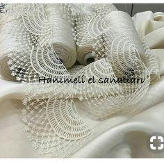 "diy_crafts- Dantel Modelleri kenar dantel örnekleri ""This post was discovered by Servet Kerem. Discover (and save!) your own Posts on Unirazi. Crochet Lace Edging, Crochet Motifs, Crochet Borders, Filet Crochet, Crochet Doilies, Crochet Patterns, Diy Crafts Crochet, Crochet Projects, Needle Tatting Patterns"