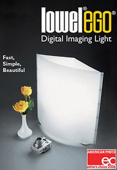Lowel Light Mfg Now anyone can create great looking professional results in their home. Lowel introduces a revolutionary tabletop fluorescent Digital Imaging Light, the elegant & easy to use Lowel Ego. Photography Set Up, Tabletop Photography, Product Photography, Video Lighting, Lighting System, Light Table, My Favorite Food, I Am Awesome, Beautiful