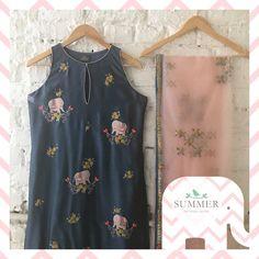 Beautiful blush pink color designer saree abd designer blouse from Summer by Priyanka Gupta. Pakistani Fashion Casual, Pakistani Dress Design, Pakistani Dresses, Indian Dresses, Indian Fashion, Indian Clothes, Indian Suits, Indian Attire, Indian Wear