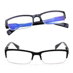 5pcs lot Half frame middle-aged Presbyopic Glasses Women   Men elderly  Eyeglass Blue Film Anti-radiation Unisex Reading Glasses 5d75962cee0c