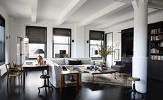 Le style - très classique charme - de Monique Gibson   NEW YORK CITY LOFT