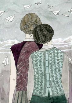 Aviones de papel,Laura Devetach Il.lustració Yuliya