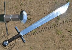 FALCHION, Germany, exact replica, year 1500