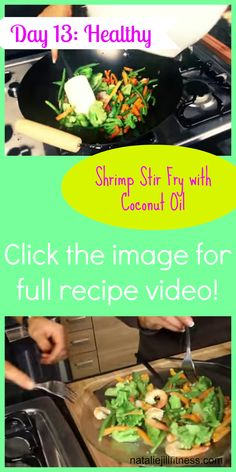 Today I have a new recipe for you to try! If you are not a shrimp lover, add chicken or another fish! Click here to watch the video