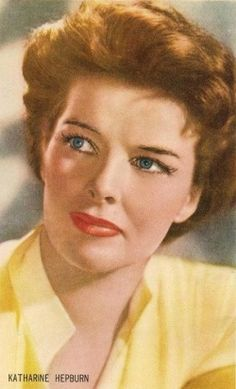 funny or memorable quotes by famous people like Kathryn Hepburn