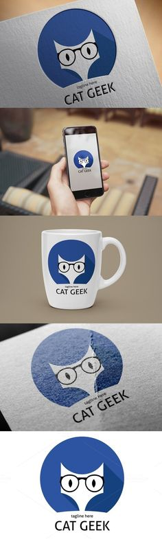 Cats Logo Design Icons 38 Ideas For 2019 Logo Design, Cat Design, Cat Face Drawing, Cat Drawing Tutorial, Diy Cat Bed, Cat Sketch, Cat Pose, Super Cat, Watercolor Cat