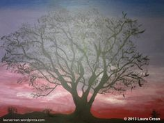 Sunset Tree http://lauracrean.wordpress.com/