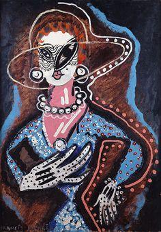 Francis Picabia - Femme au monocle (1924)