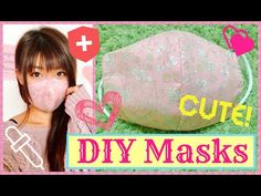 How To Make Mask to Prevent from Flu, Cold and Virus!~DIY~ 立体マスクの作り方 〜インフルエンザ、ウイルス予防〜 - YouTube Sewing Lessons, Sewing Hacks, Sewing Projects, Diy Doctor, Buy Mask, Diy Face Mask, Face Masks, Mask Design, Mask Making