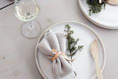 mesa de natal nórdic