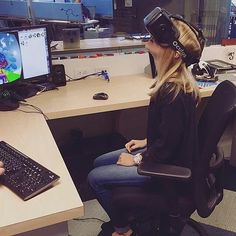 From @rebaconator  Today I discovered that Heaven exists through the lens of the Oculus Rift. by technigadgets