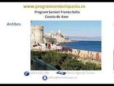Program seniori Franta Coasta de Azur -Program Social Coasta de Azur  www.programseniorispania.ro #seniorvoyage Antibes, Italia, Travel